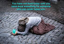 you have not lived today
